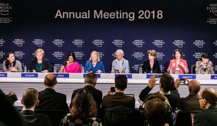 Annual Meeting of the World Economic Forum in Davos 2018