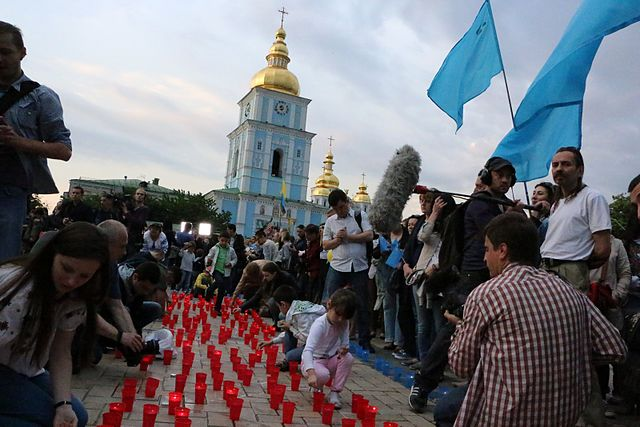Action_dedicated_to_the_fate_of_the_Crimean_Tatars,_Kiev_(2014-05-17)